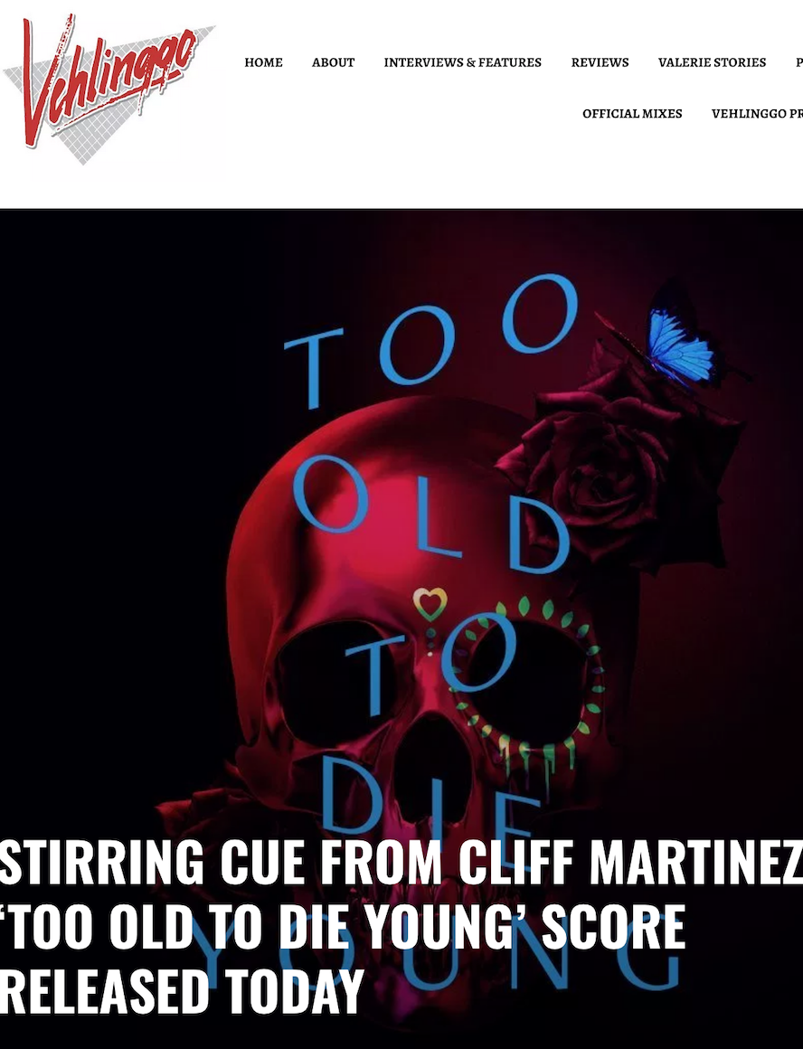 Singer Songwriter Actress A Girl I Know | Carolina Hoyos appears on closing track of Too Old To Die Young Soundtrack Album
